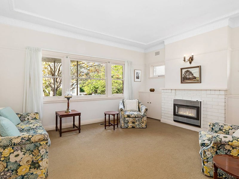 East Lindfield House Recently Sold Lounge Room