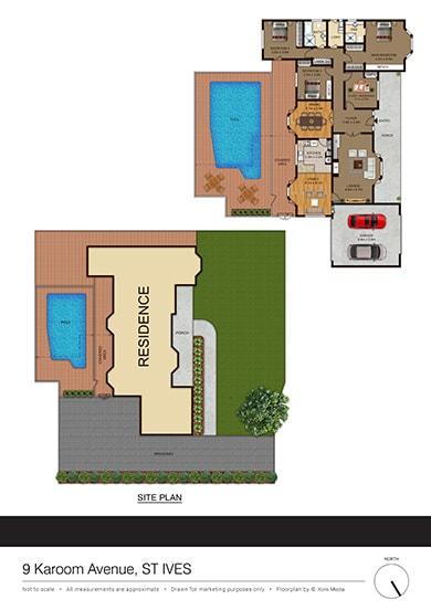 9 Karoom Ave, St Ives Floorplan
